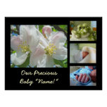 New Baby Photo Art Print gifts Our Precious Baby