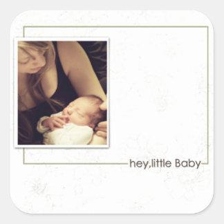 new baby Photo sticker