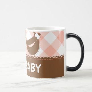 New Baby Pink and Brown Magic Mug