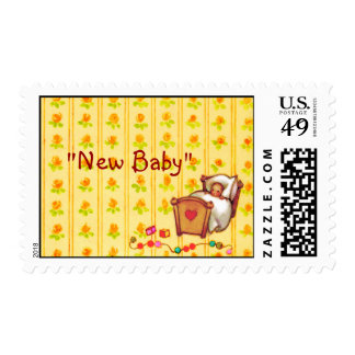 New Baby ~ Postage Stamps