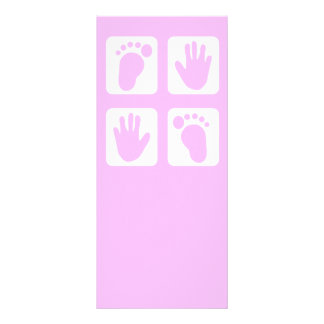 New Baby Personalized Rack Card