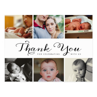 New Baby Thank You Photo Post Card