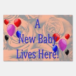 New Baby Lawn Signs