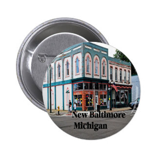 New Baltimore Michigan Button