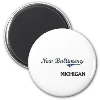 New Baltimore Michigan City Classic 2 Inch Round Magnet