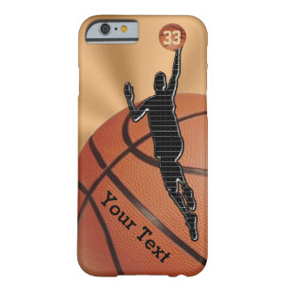 NEW Basketball iPhone 6 Cases with NAME and NUMBER