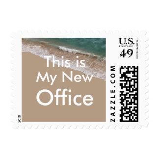 New Beach Office Retirement Stamp