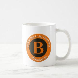 New bealeader logo coffee mug