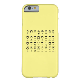 New Beard Chart Barely There iPhone 6 Case