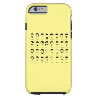 New Beard Chart Tough iPhone 6 Case