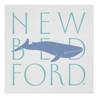 New Bedford Blue Whale Poster