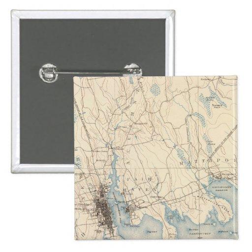 New Bedford, Massachusetts Pinback Button