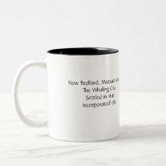 "New Bedford ""The Whaling City"" Massachusetts Mug"