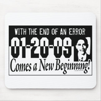 New Beginning Obama 2009 Gear Mouse Pad