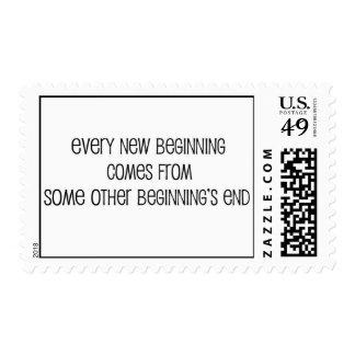 new beginning postage