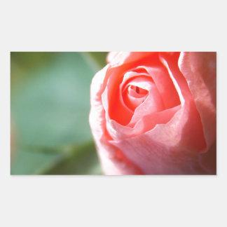 New Beginning Rose Rectangular Sticker
