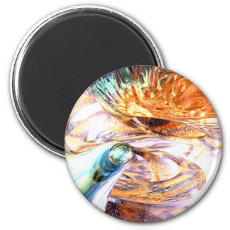 New Beginnings Abstract Magnet