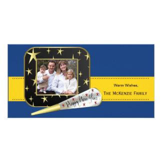 New Beginnings (Blue) Photo Card