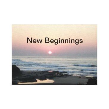 New Beginnings Canvas Print