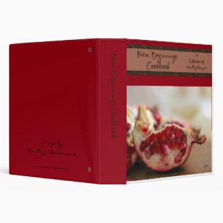 New Beginnings Cookbook 3 Ring Binder