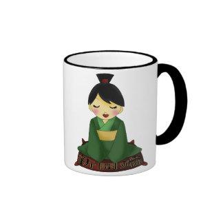 New Beginnings Girl Ringer Coffee Mug