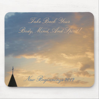 New Beginnings Mouse Pad