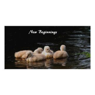 New Beginnings Photo Card