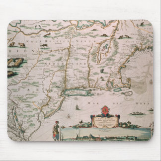 New Belgium, plate from 'Atlas Contractus' c.1671 Mouse Pad