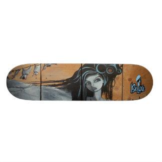 NEW Beluxe RUBYtuesday Skate Board Deck