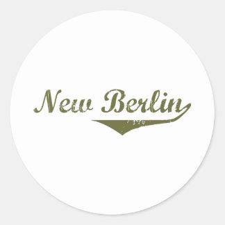 New Berlin  Revolution t shirts Round Sticker