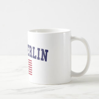 New Berlin US Flag Coffee Mug