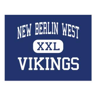 New Berlin West - Vikings - High - New Berlin Postcard