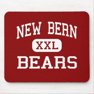 New Bern - Bears - High - New Bern North Carolina Mouse Pad