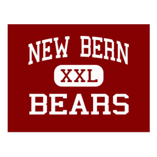 New Bern - Bears - High - New Bern North Carolina Postcard