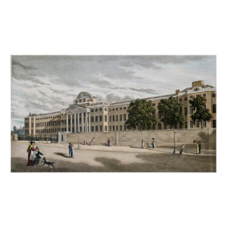 New Bethlem Hospital, St. George's Fields Poster