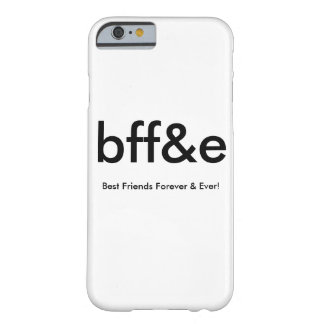 NEW bff&e BEST FRIENDS FOREVER & EVER PHONE CASE iPhone 6 Case