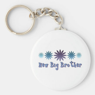 New Big Brother Basic Round Button Keychain