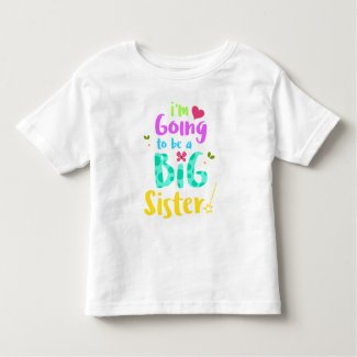 New Big Sister Baby Announcement Shirt