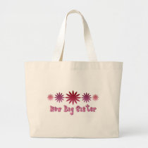 New Big Sister Large Tote Bag