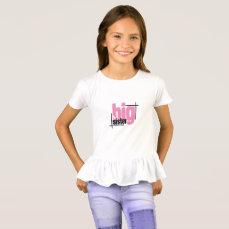 NEW Big Sister Shirt
