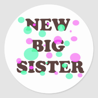 New Big Sister Sticker