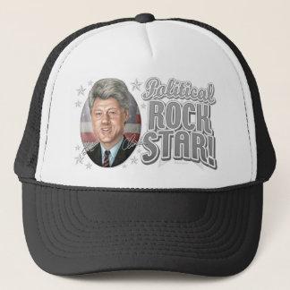 New Bill Clinton Caricature Portrait Trucker Hat