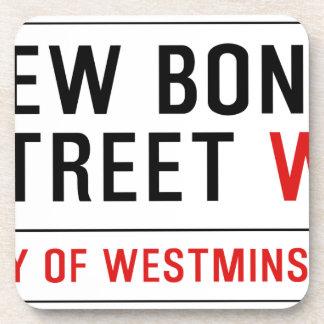 New Bond Street Drink Coaster