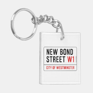 New Bond Street Keychain