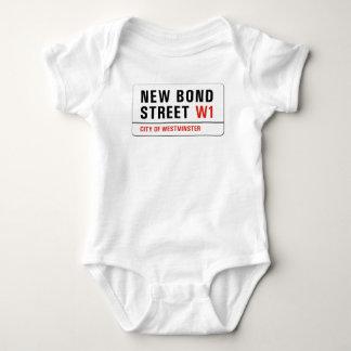 New Bond Street, London Street Sign Baby Bodysuit