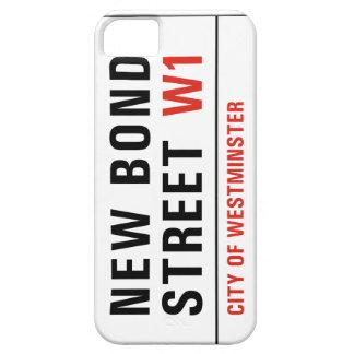 New Bond Street, London Street Sign iPhone 5/5S Cover