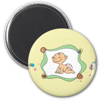 New born baby magnet