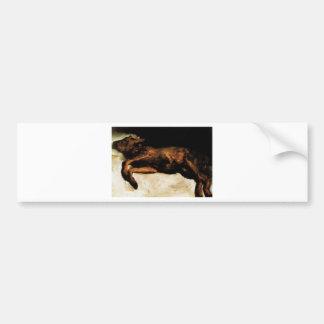 New-Born Calf Lying on Straw by Vincent van Gogh Bumper Sticker