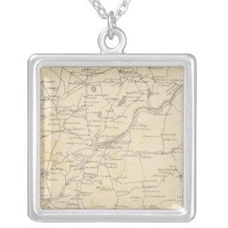 New Boston, Hillsborough Co Silver Plated Necklace