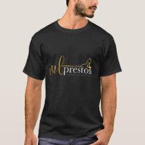 New brand t-shirt for Author ML Preston - Dark